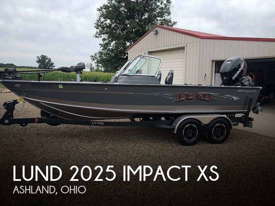 Used Boats For Sale in Canton, Ohio by owner | 2017 Lund 2025 Impact XS