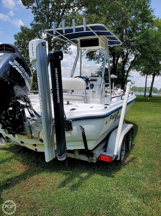 2005 Fish Master boat for sale, model of the boat is 21 VX & Image # 6 of 41