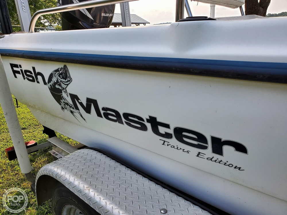 2005 Fish Master boat for sale, model of the boat is 21 VX & Image # 21 of 41