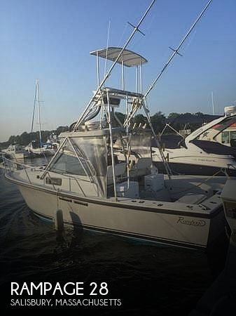 Used Rampage Boats For Sale by owner | 1986 28 foot Rampage Sportsman