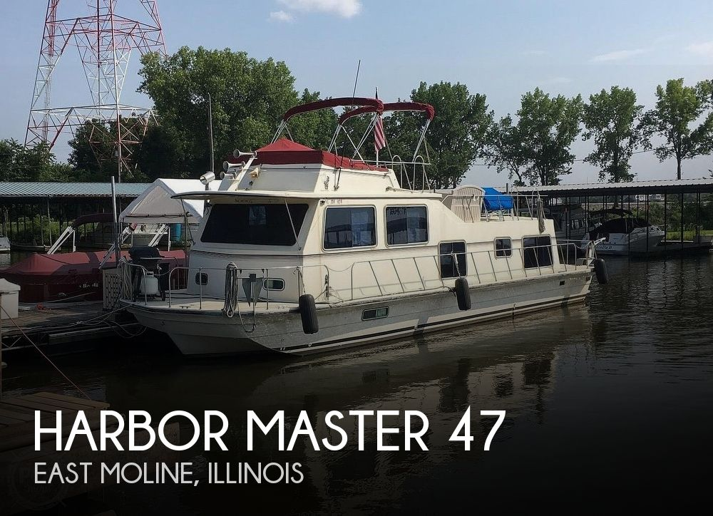 Used Harbor Master Houseboats For Sale by owner | 1986 Harbor Master 47