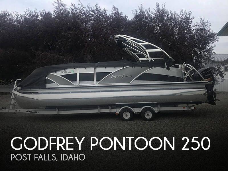 Used Power boats For Sale in Idaho by owner | 2013 Godfrey Pontoon Aqua Patio 250 Xp Tritoon