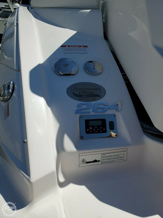 2014 Chaparral boat for sale, model of the boat is 264 Sunesta & Image # 9 of 41