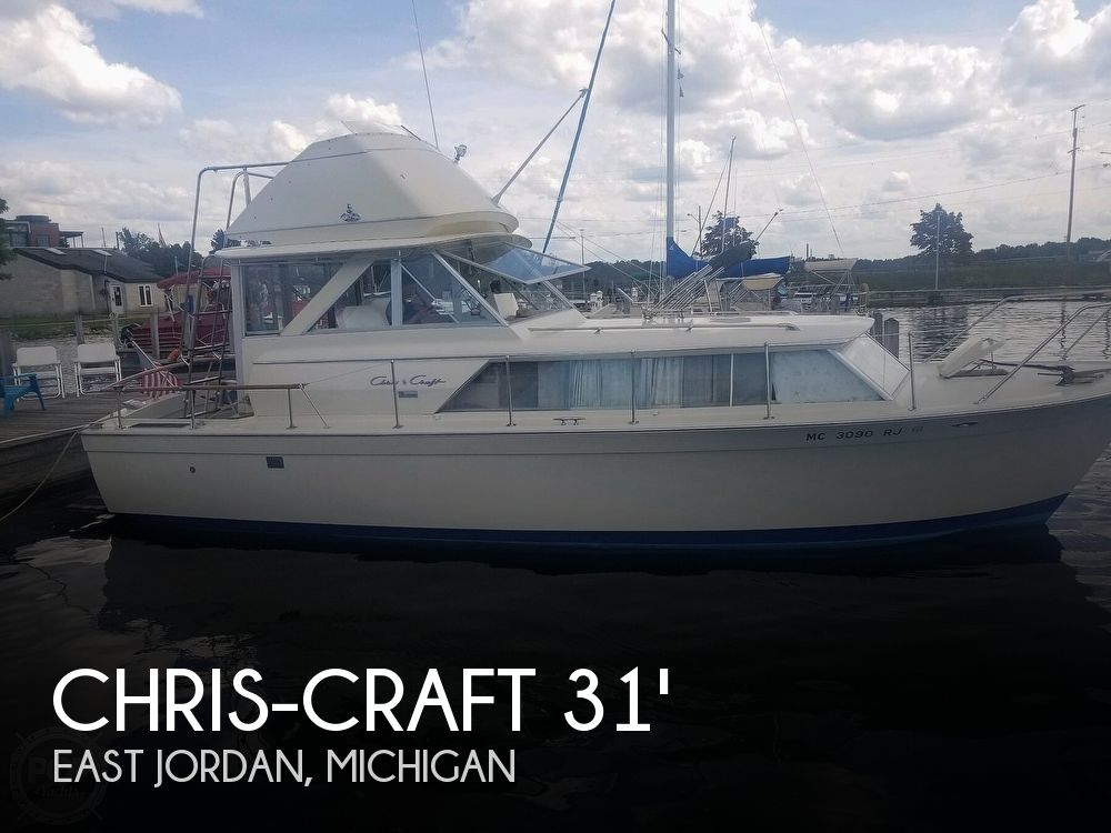 1970 Chris Craft boat for sale, model of the boat is Commande Sedan & Image # 1 of 42