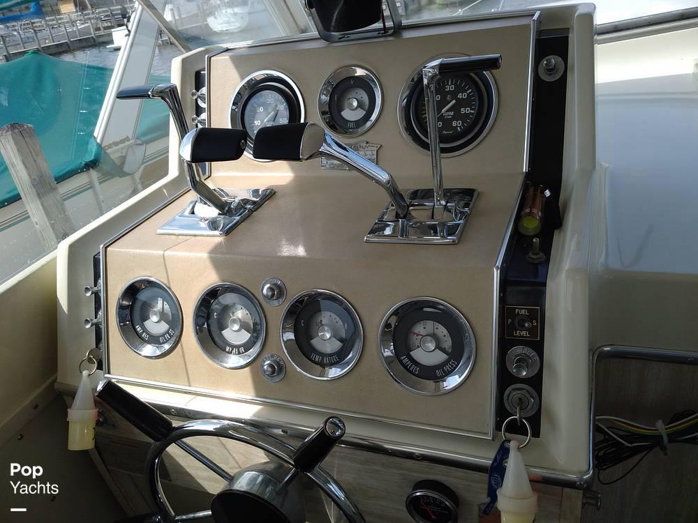 1970 Chris Craft boat for sale, model of the boat is 31 Commander Sedan & Image # 40 of 40