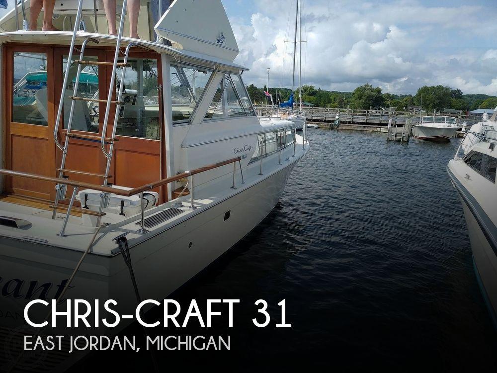 1970 Chris Craft boat for sale, model of the boat is 31 Commander Sedan & Image # 1 of 40