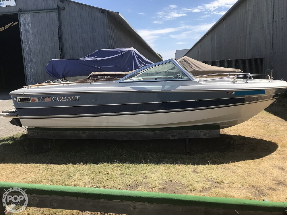 1989 Cobalt boat for sale, model of the boat is 19BR & Image # 4 of 41