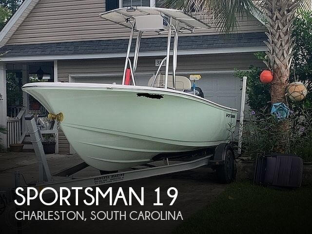 2017 SPORTSMAN BOATS 19 ISLAND REEF for sale