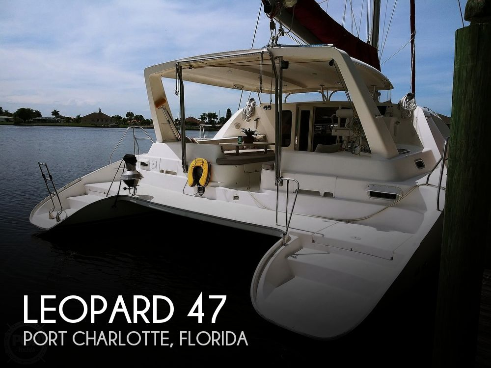 Used Boats For Sale in Naples, Florida by owner | 2004 Leopard 47