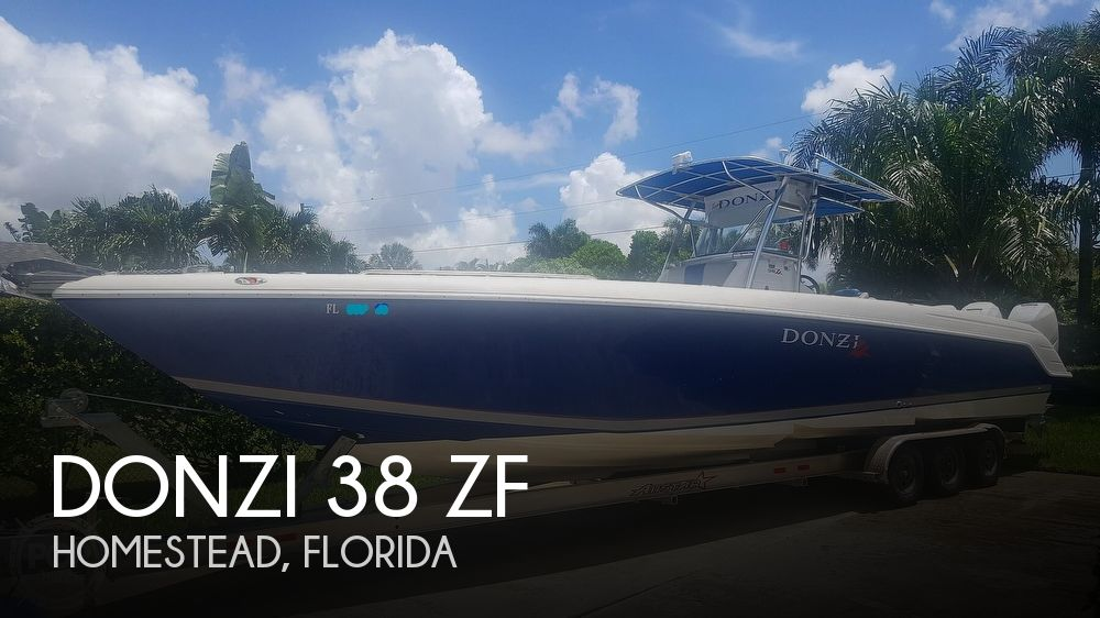 2005 Donzi boat for sale, model of the boat is 38 ZF & Image # 1 of 40