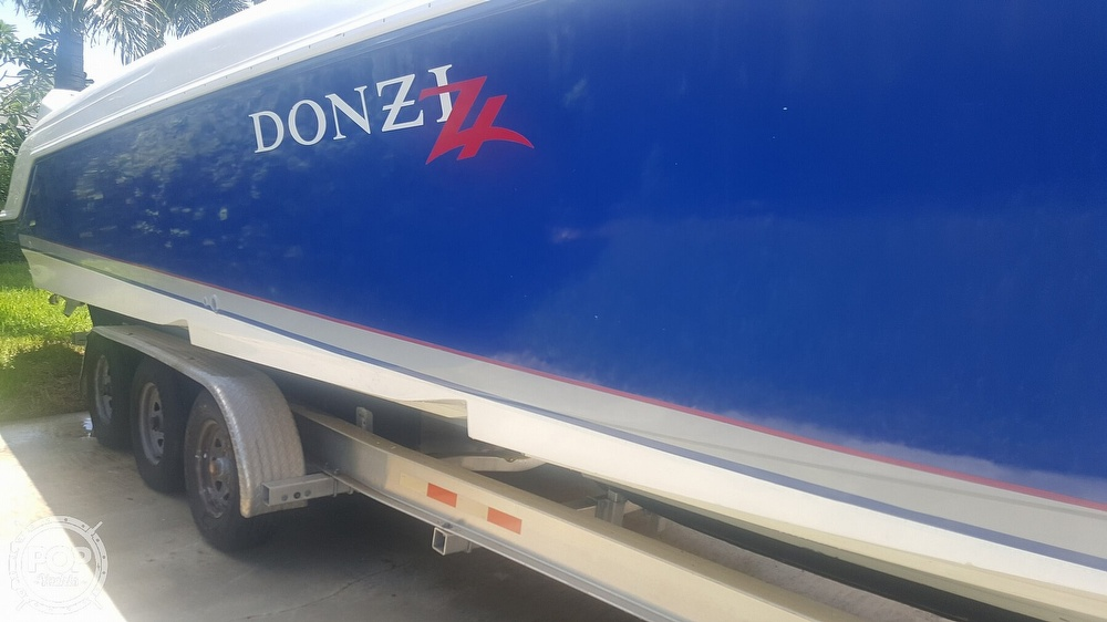 2005 Donzi boat for sale, model of the boat is 38 ZF & Image # 17 of 40