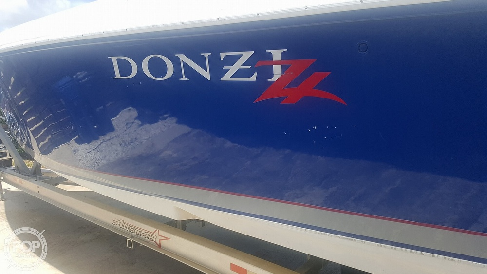 2005 Donzi boat for sale, model of the boat is 38 ZF & Image # 26 of 40