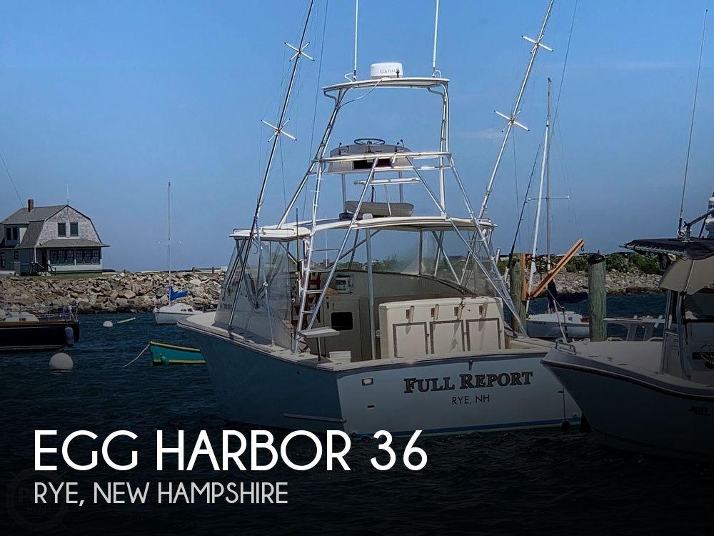 Used Egg Harbor Boats For Sale by owner | 1981 Egg Harbor 36