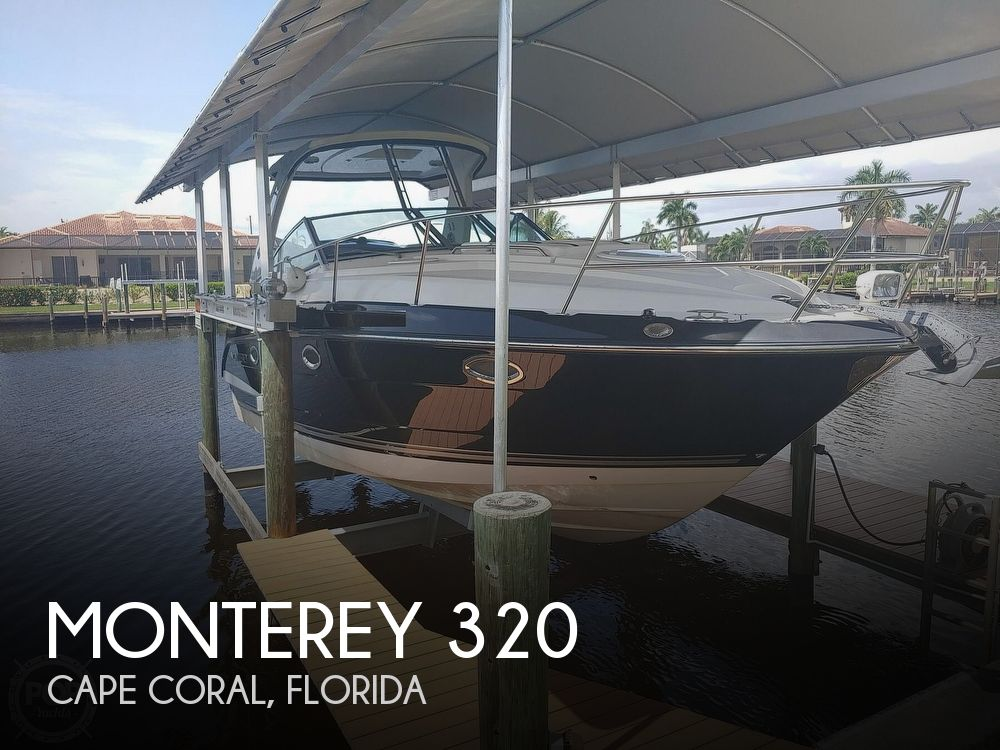 2014 Monterey boat for sale, model of the boat is 320 Sport Yacht & Image # 1 of 40