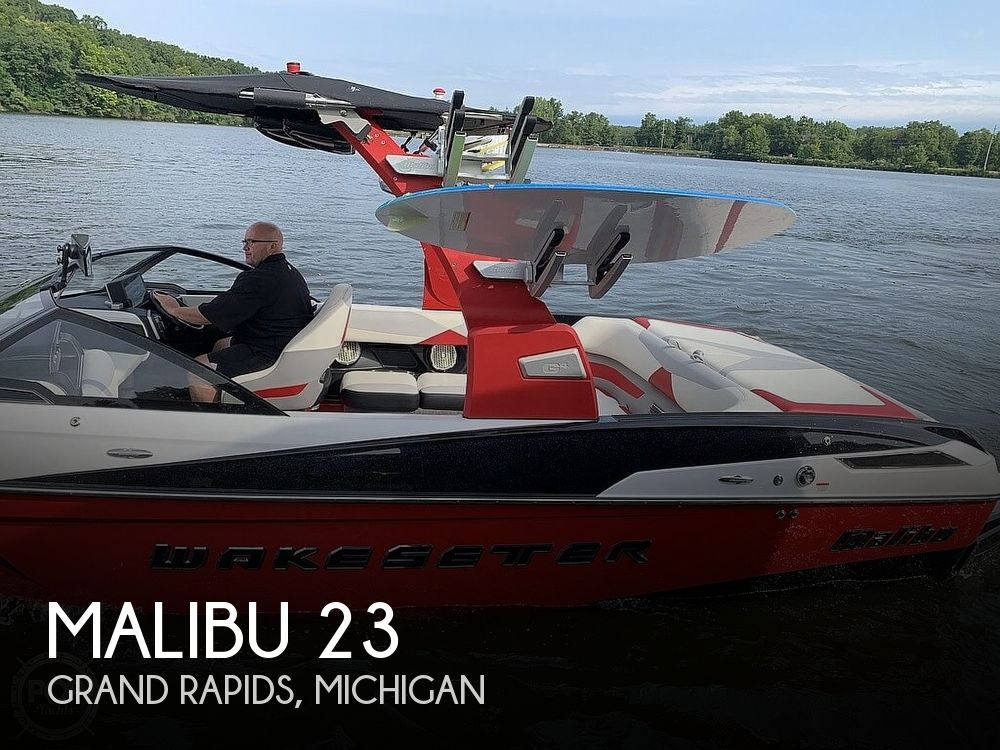 2016 Malibu boat for sale, model of the boat is 23 LSV & Image # 1 of 41
