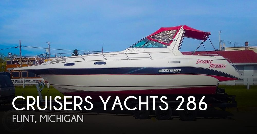 1987 Cruisers Yachts boat for sale, model of the boat is Rogue Sport 286S & Image # 1 of 40