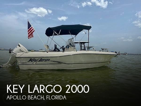 Used Key largo Boats For Sale by owner | 2016 Key Largo 2000