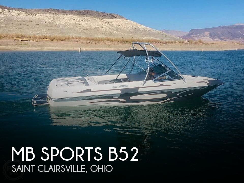 Used MB Sports Boats For Sale in Ohio by owner | 2006 MB Sports B52 Team Edition