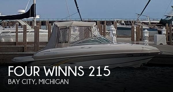 Used Four Winns Boats For Sale in Michigan by owner | 2007 Four Winns 215 Sundowner