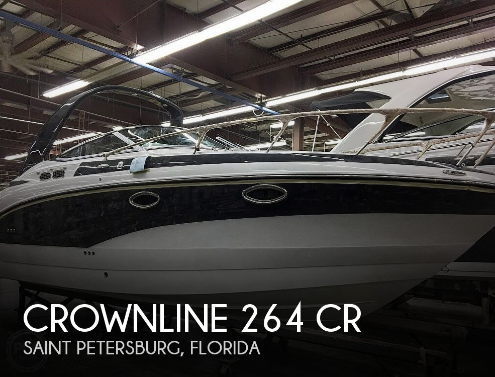 Used Crownline Boats For Sale by owner | 2018 Crownline 264 CR