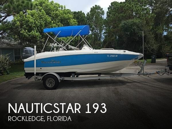 Used NauticStar Deck Boats For Sale in Florida by owner | 2017 NauticStar 193