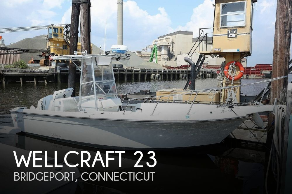 1988 WELLCRAFT 23 FISHERMAN for sale