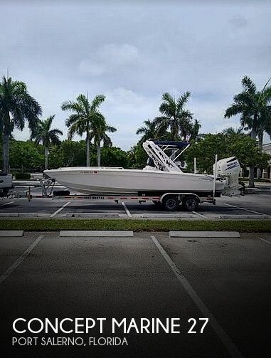 Used Concept Marine Boats For Sale by owner | 1998 Concept Marine 27