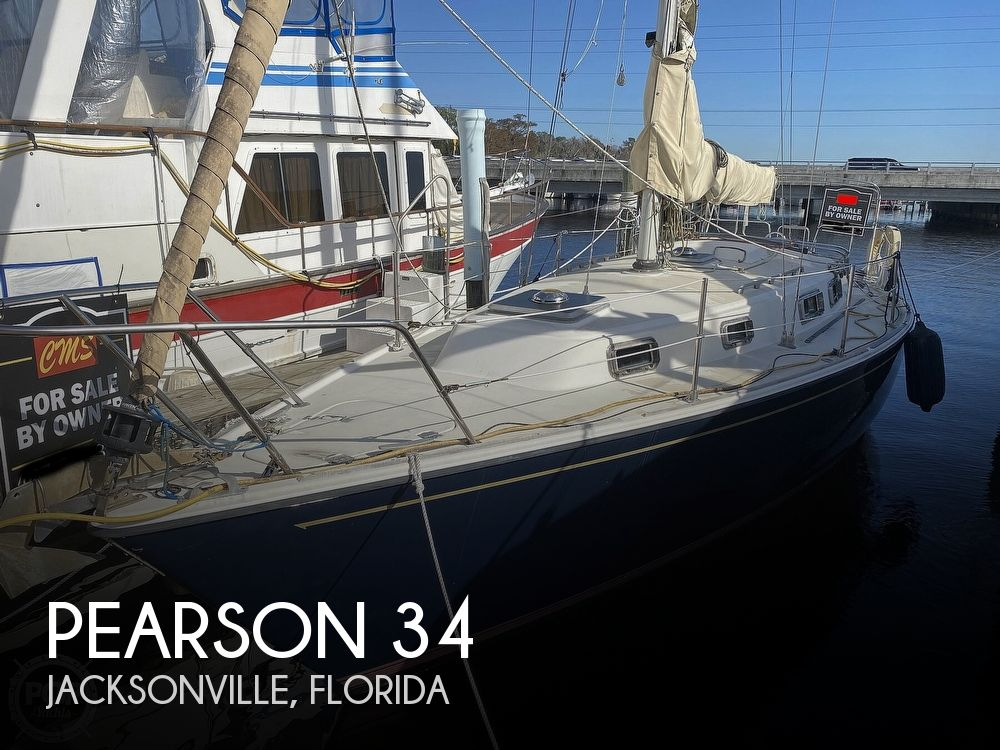 1984 Pearson boat for sale, model of the boat is 34 & Image # 1 of 40