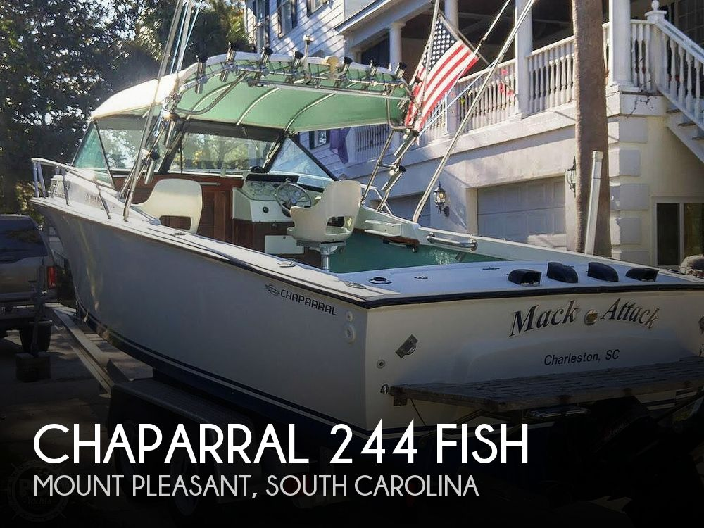 Used Chaparral Boats For Sale in South Carolina by owner | 1984 Chaparral 244 Fish