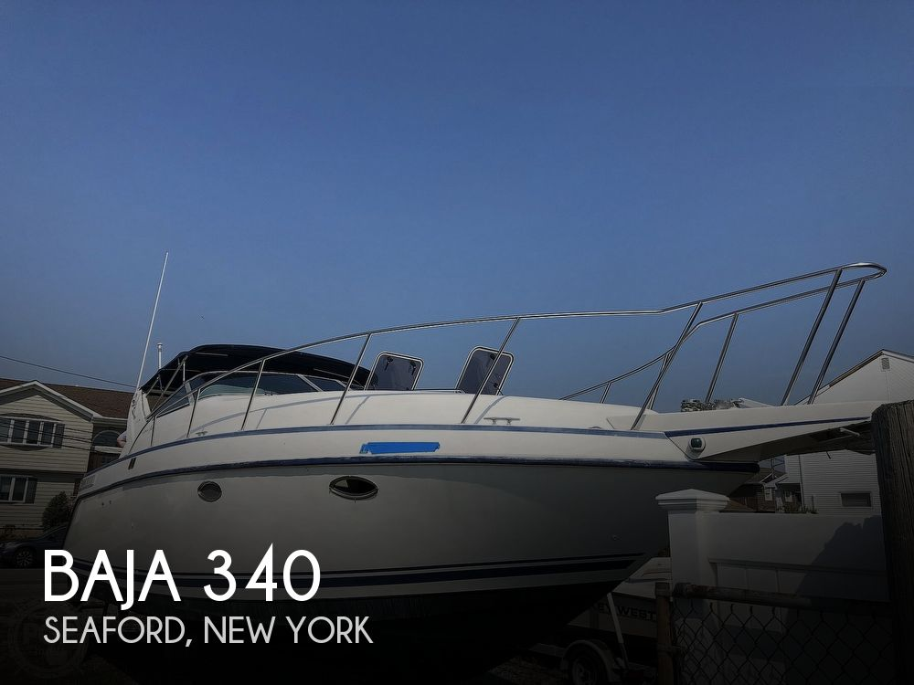 1992 Baja boat for sale, model of the boat is 340 Express Yacht & Image # 1 of 40