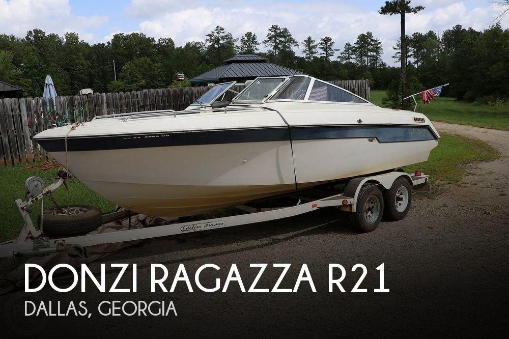 1988 Donzi Ragazza R21