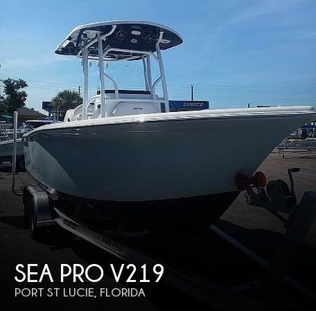 Used Sea Pro Boats For Sale by owner | 2018 Sea Pro 219