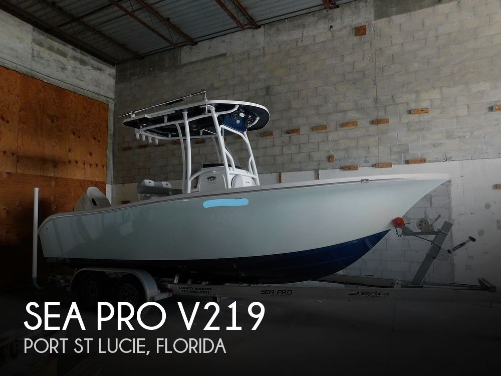 2018 SEA PRO V219 for sale