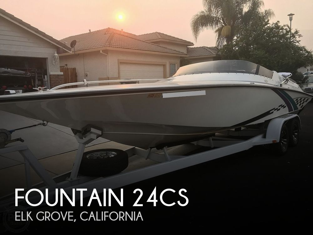 1997 Fountain boat for sale, model of the boat is 24CS & Image # 1 of 41