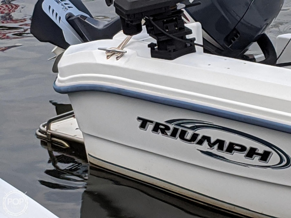 2006 Triumph boat for sale, model of the boat is 195 CC & Image # 29 of 40