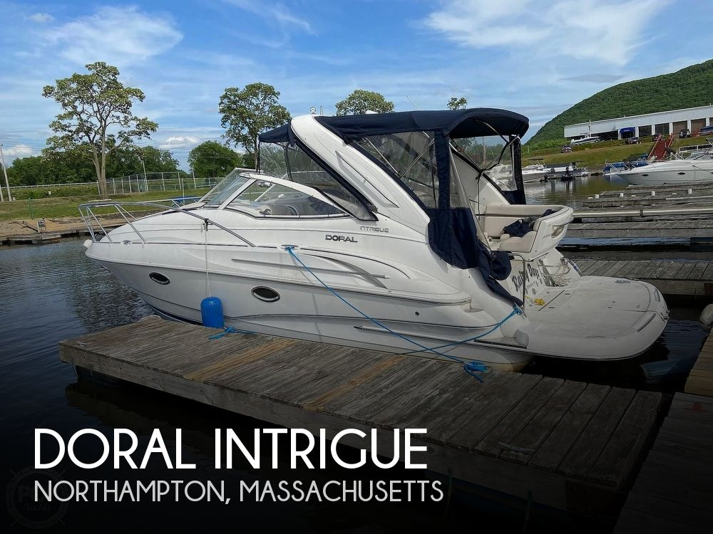 Used Doral Boats For Sale by owner | 2004 31 foot Doral Intrigue