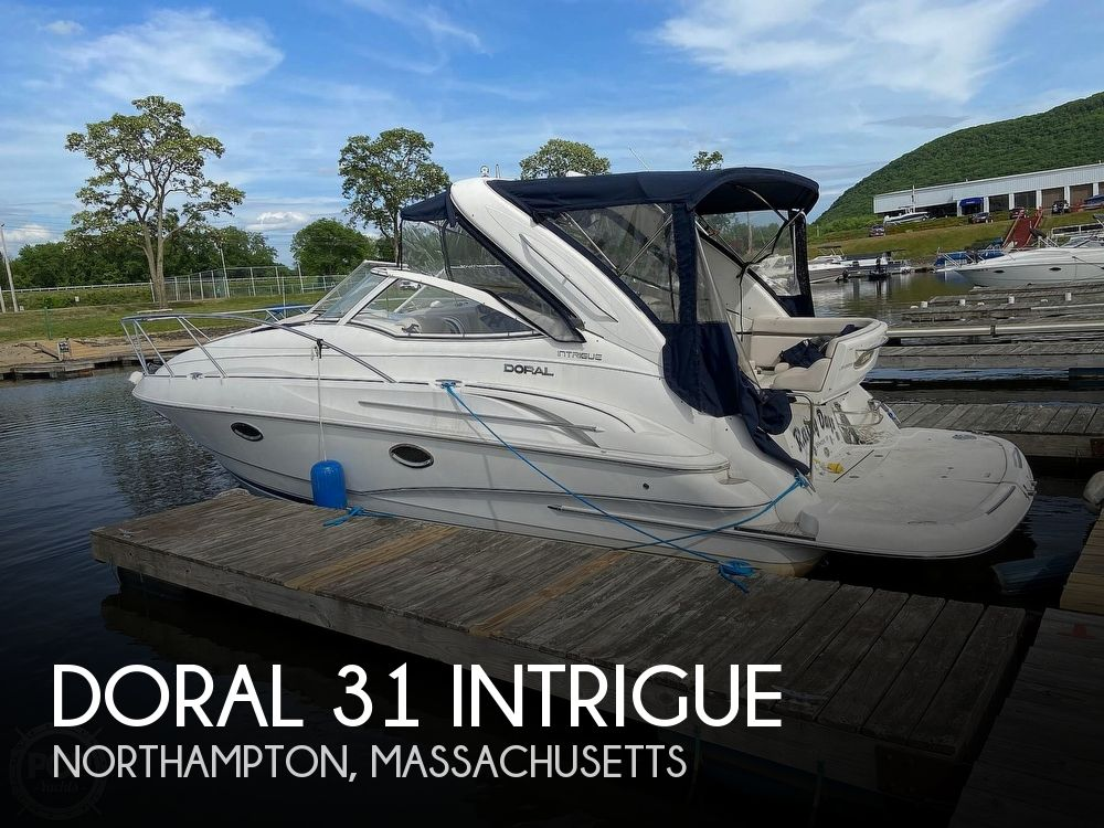 2004 Doral International boat for sale, model of the boat is 31 Intrigue & Image # 1 of 41