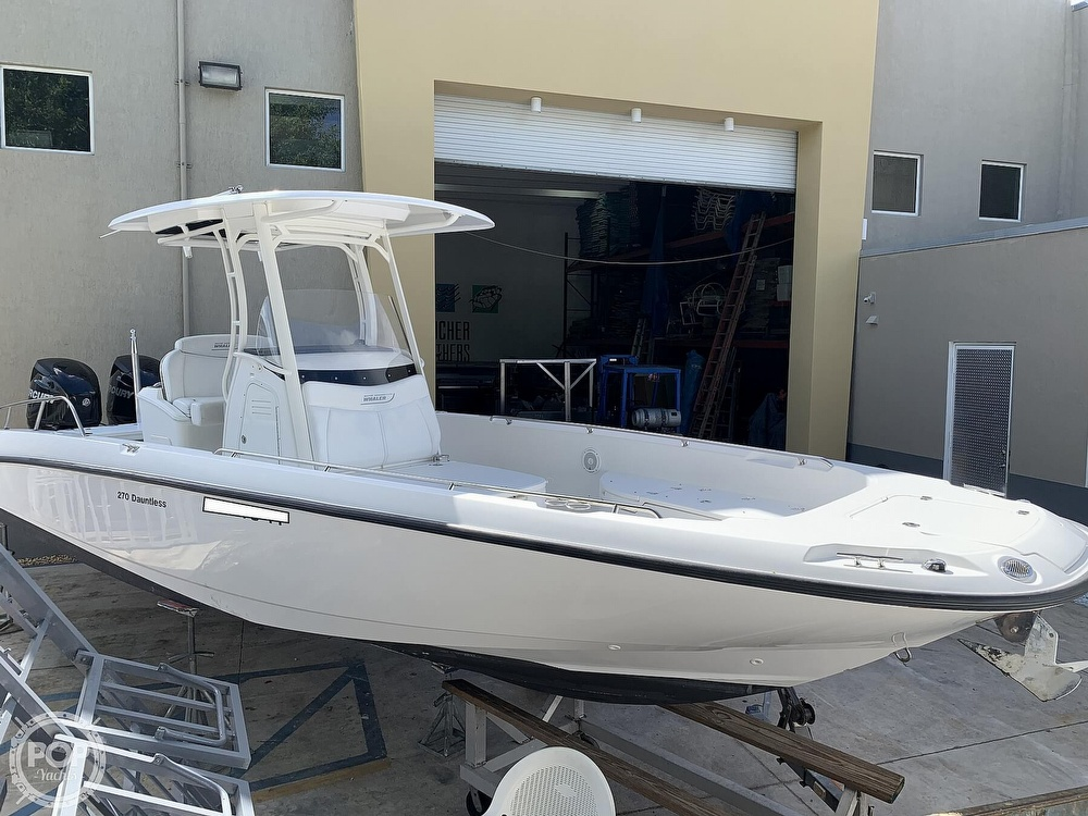2013 Boston Whaler boat for sale, model of the boat is 270 Dauntless & Image # 8 of 40