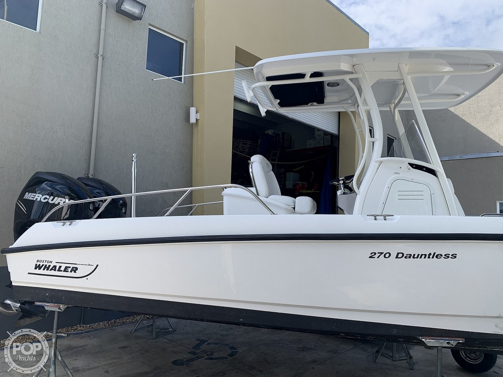2013 Boston Whaler boat for sale, model of the boat is 270 Dauntless & Image # 12 of 40