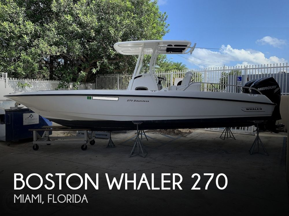 2013 Boston Whaler boat for sale, model of the boat is 270 Dauntless & Image # 1 of 40