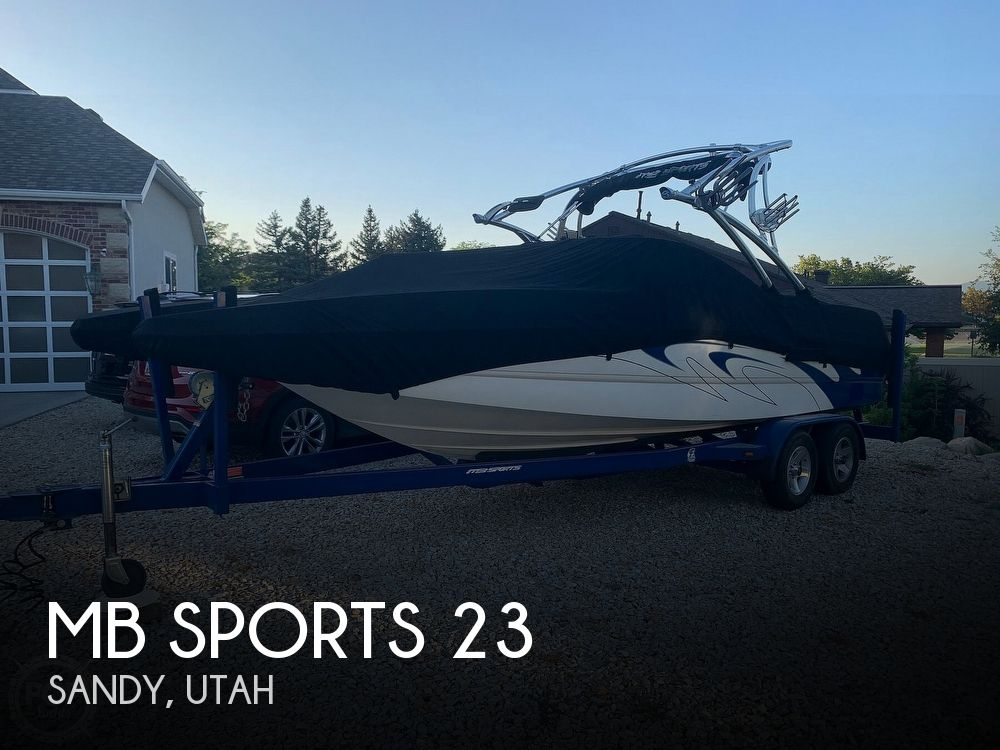 2007 MB Sports boat for sale, model of the boat is f23 tomcat & Image # 1 of 12