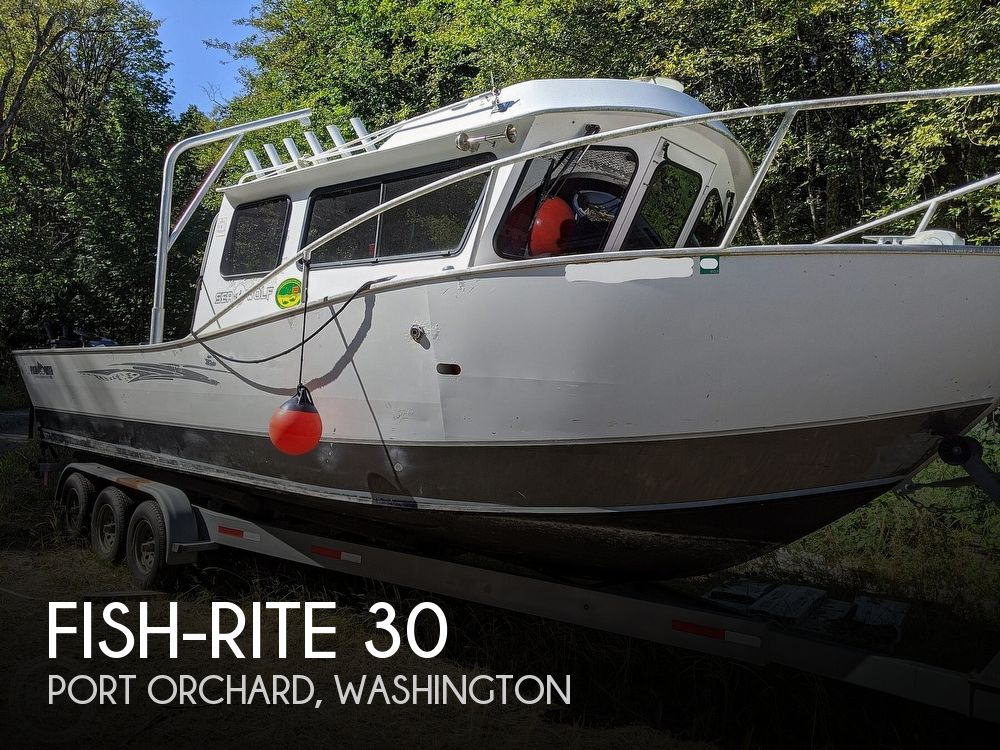 Used Fish-Rite Boats For Sale by owner | 2008 Fish-Rite Sea Wolf 30