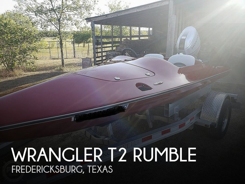 2015 Wrangler boat for sale, model of the boat is T2 Rumble & Image # 1 of 16