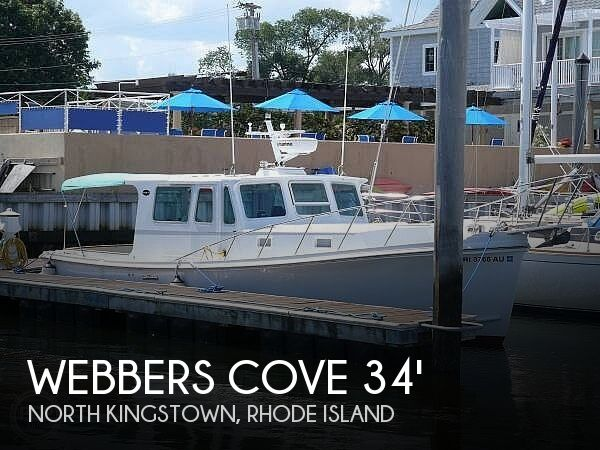 Used Webbers Cove Boats For Sale by owner | 1977 34 foot Webbers Cove Down East