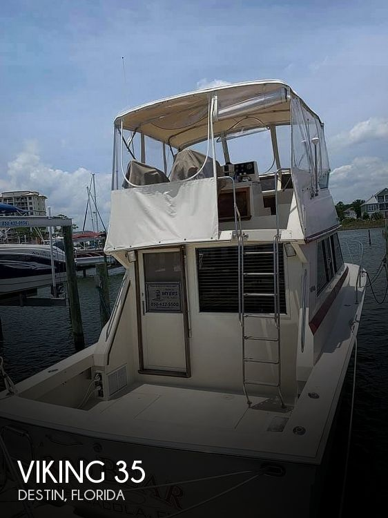 Used Viking Boats For Sale by owner | 1986 Viking 35