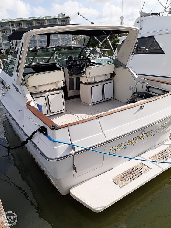 1986 Sea Ray boat for sale, model of the boat is 340 Express & Image # 3 of 40