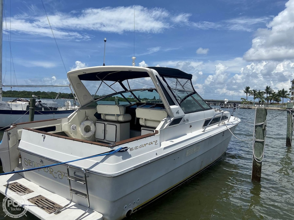 1986 Sea Ray boat for sale, model of the boat is 340 Express & Image # 20 of 40