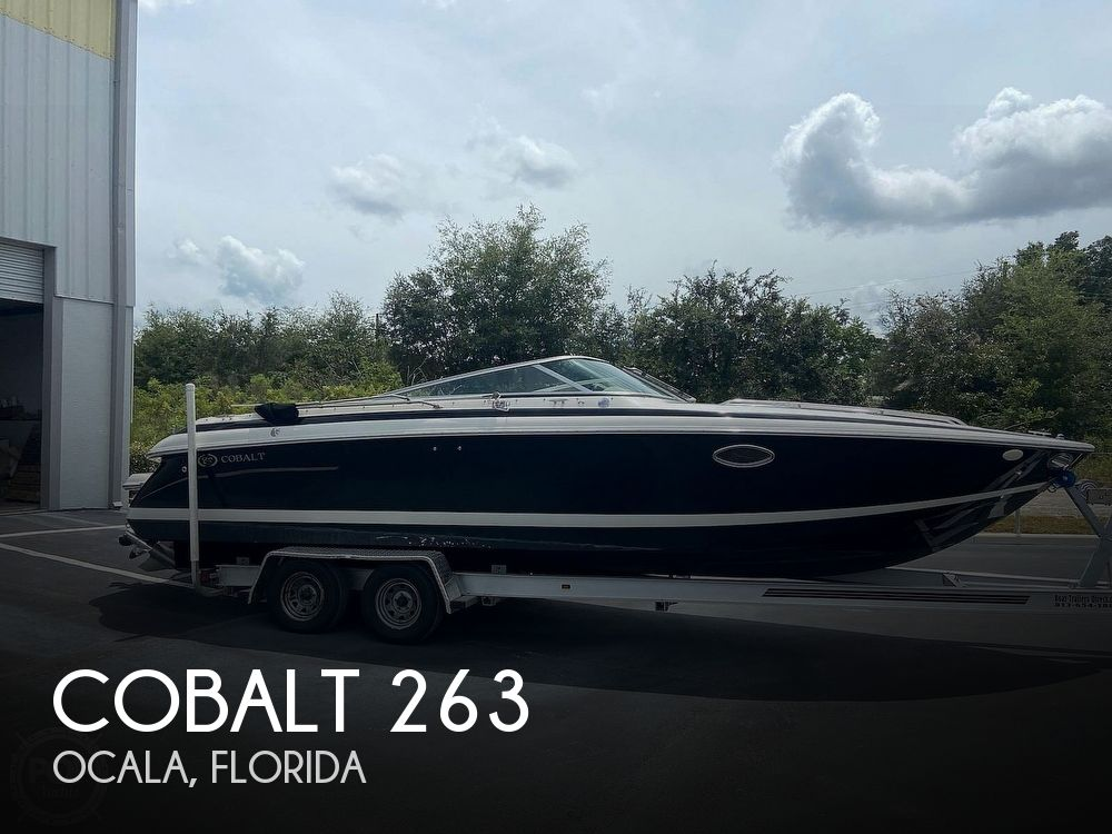 2002 Cobalt boat for sale, model of the boat is 263 & Image # 1 of 40