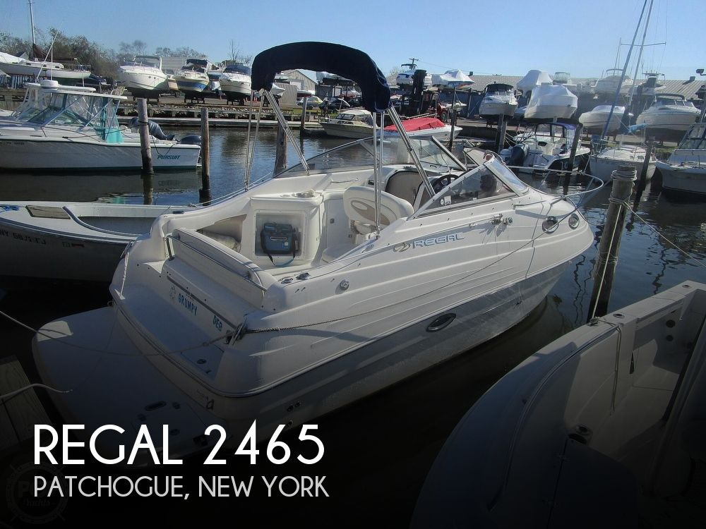 2003 Regal boat for sale, model of the boat is 2465 Commodore & Image # 1 of 41