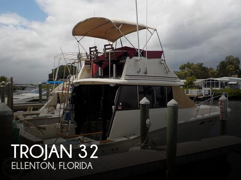 1984 Trojan boat for sale, model of the boat is F32 Convertible & Image # 1 of 40